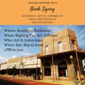 Book Signing at Bosslight